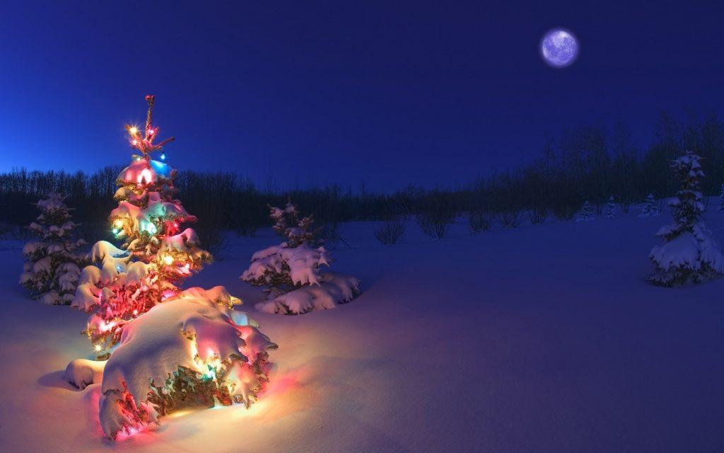 Лучшие обои для рабочего стола Новый год зима (4)