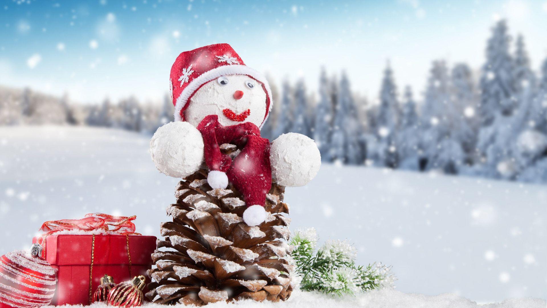 Лучшие обои для рабочего стола Новый год зима (5)