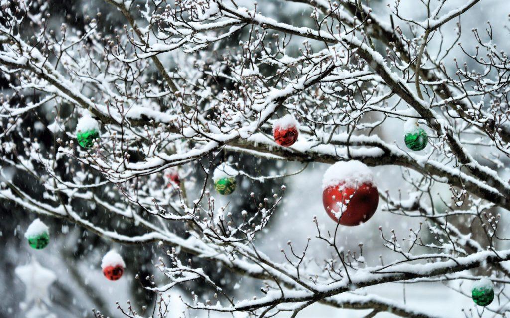 Лучшие обои для рабочего стола Новый год зима (9)