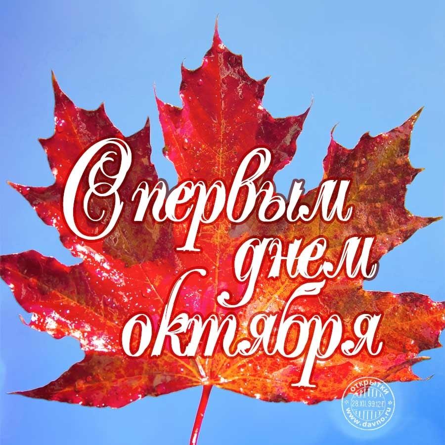 Лучшие поздравления с началом октября019