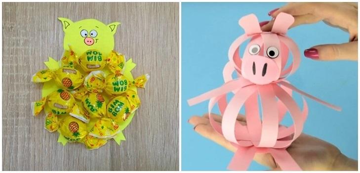 Милая игрушка в детский сад на Новый год - фото идеи001