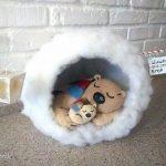 Милая игрушка в детский сад на Новый год — фото идеи