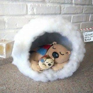 Милая игрушка в детский сад на Новый год   фото идеи002