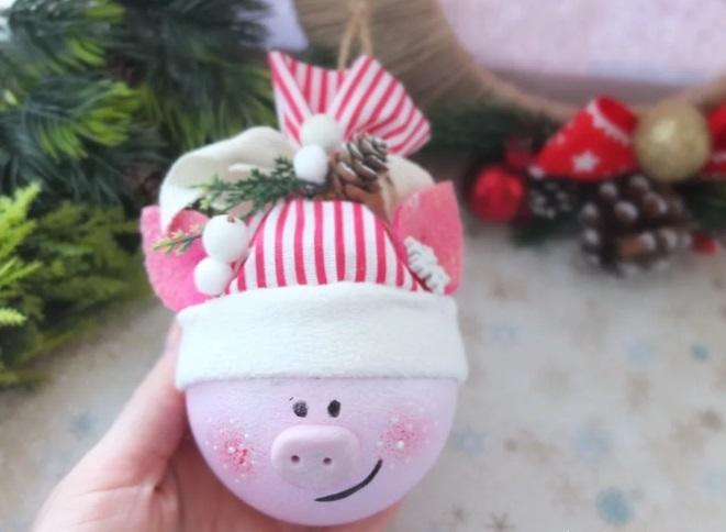 Милая игрушка в детский сад на Новый год - фото идеи006