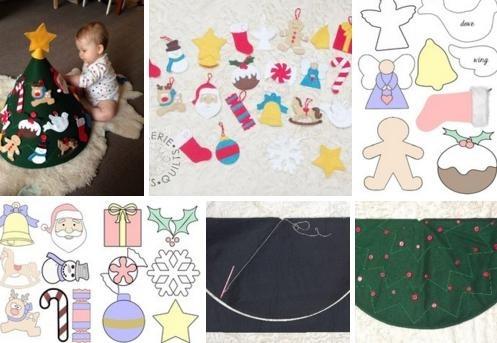 Милая игрушка в детский сад на Новый год - фото идеи009