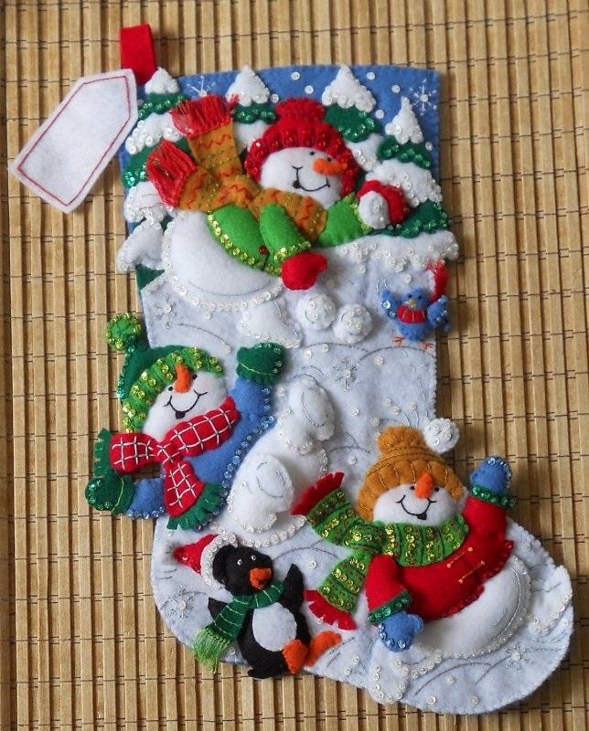 Милая игрушка в детский сад на Новый год - фото идеи010
