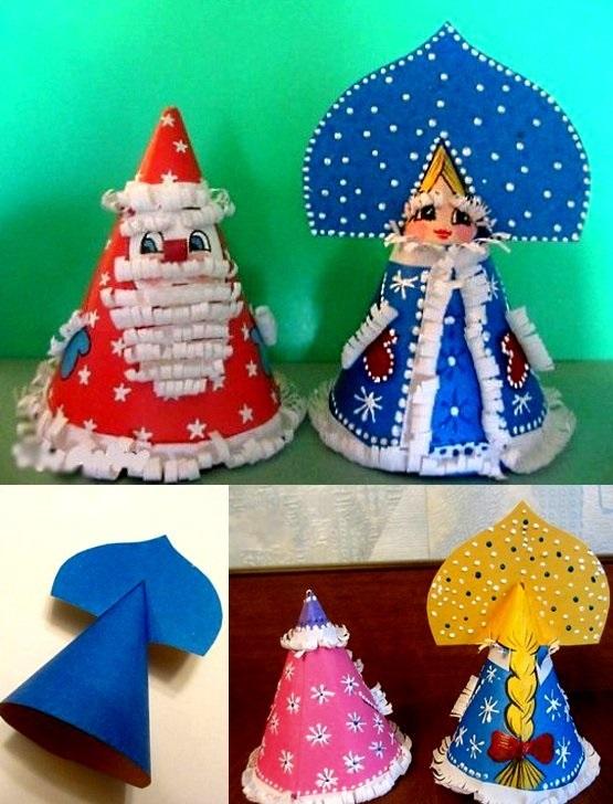 Милая игрушка в детский сад на Новый год - фото идеи020