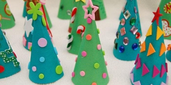 Милая игрушка в детский сад на Новый год - фото идеи024