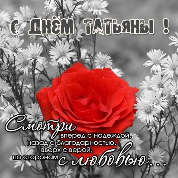 Милые картинки на именины Татьяны007