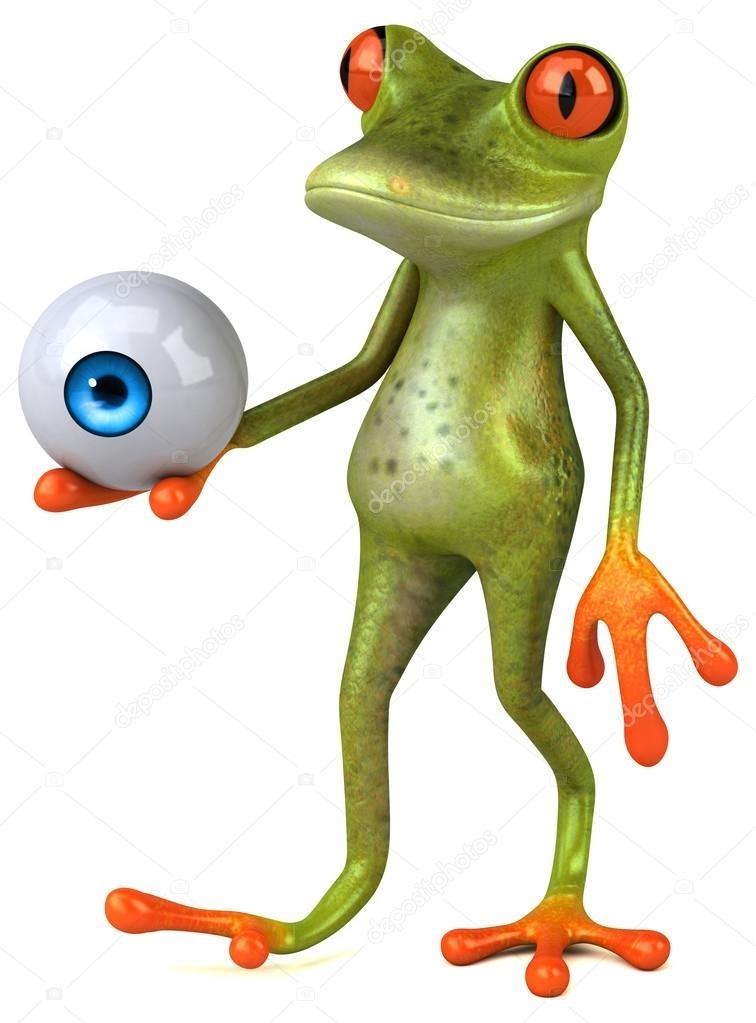 Мультяшная лягушка фото и картинки002