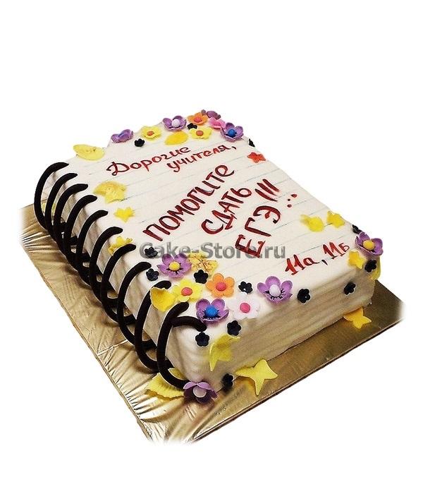 Оригинальный торт на день учителя011