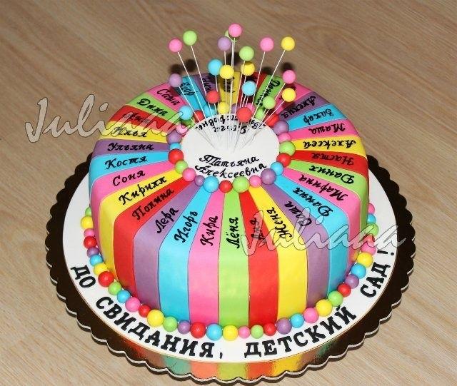 Оригинальный торт на день учителя015