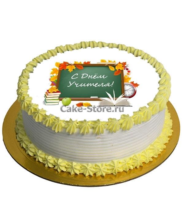Оригинальный торт на день учителя021