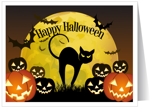 Открытки на Хэллоуин (11)