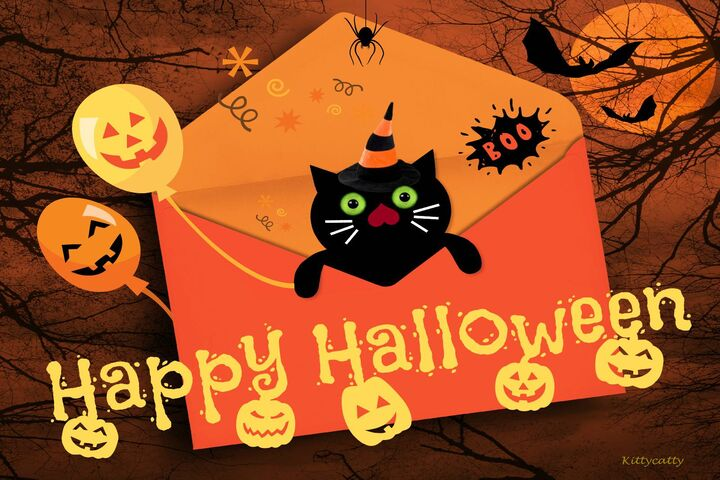 Открытки на Хэллоуин (12)