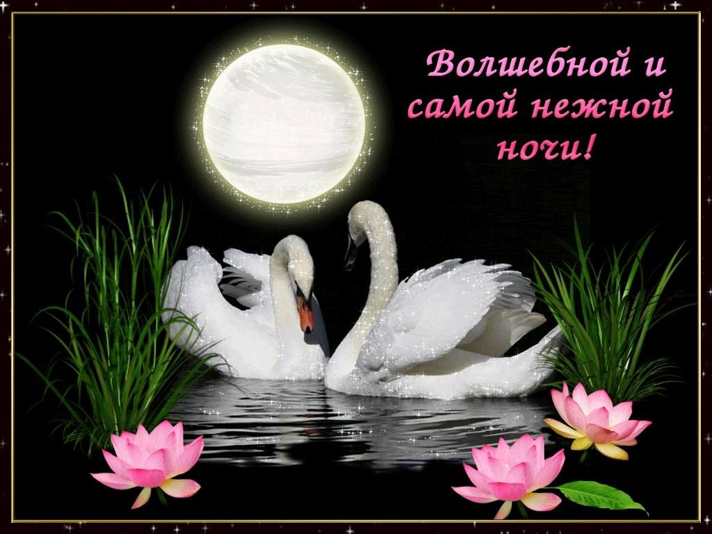 Открытки спокойной ночи в четверг016