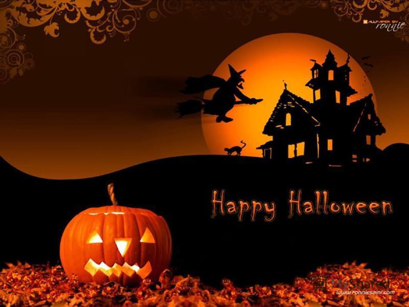 Поздравления в картинках на Хэллоуин (9)