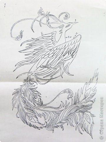 Сказочная жар птица картинки и арты007