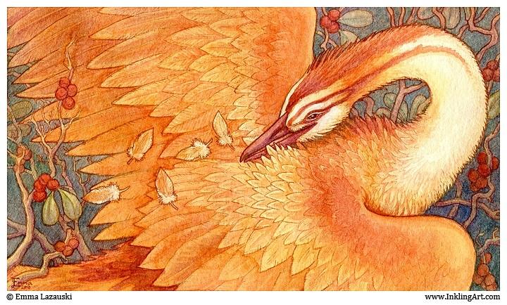 Сказочная жар птица картинки и арты009