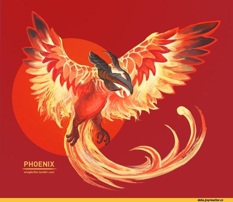 Сказочная жар птица картинки и арты013