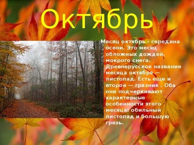 Стихи про октябрь в картинках006