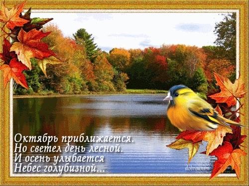 Стихи про октябрь в картинках021