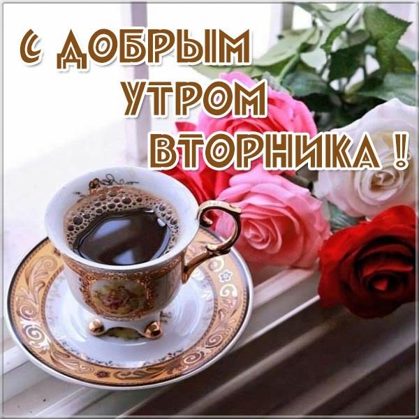 С добрым утром вторника фото и открытки012