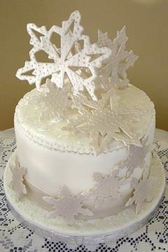 Торт зимний фото идеи002