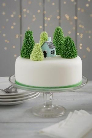 Торт зимний фото идеи010