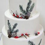 Торт зимний фото идеи — очень вкусные