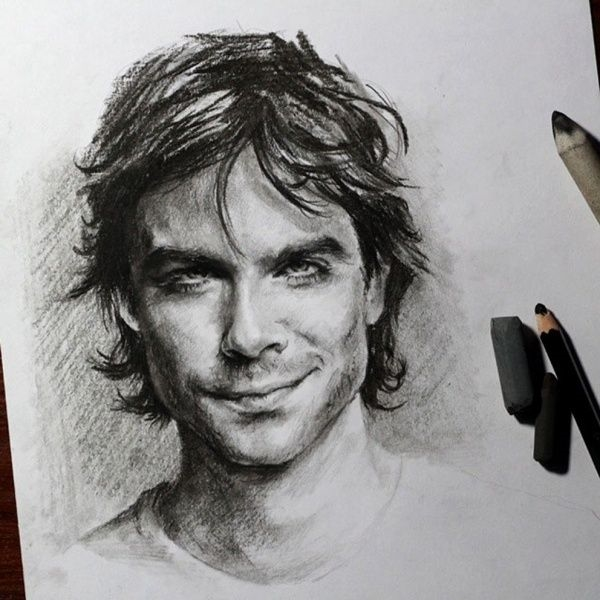 Удивительные рисунки вдохновение карандашом004