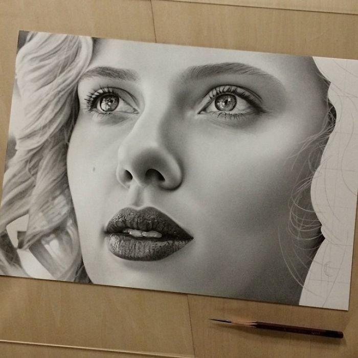 Удивительные рисунки вдохновение карандашом005
