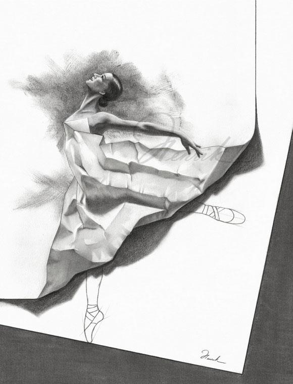 Удивительные рисунки вдохновение карандашом006