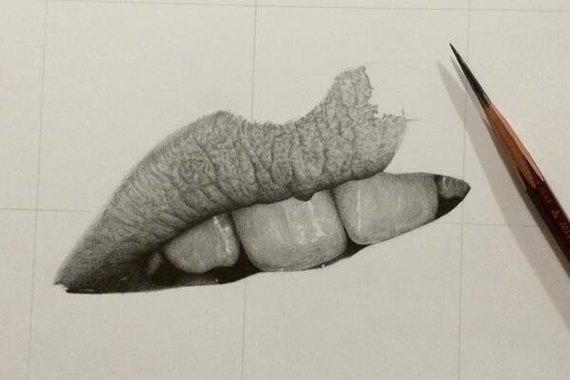 Удивительные рисунки вдохновение карандашом015