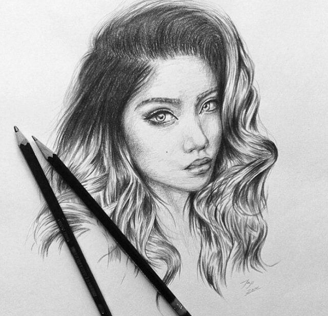 Удивительные рисунки вдохновение карандашом019