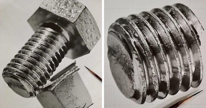 Удивительные рисунки вдохновение карандашом021