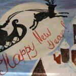 Удивительный рисунок Деду Морозу на новый год