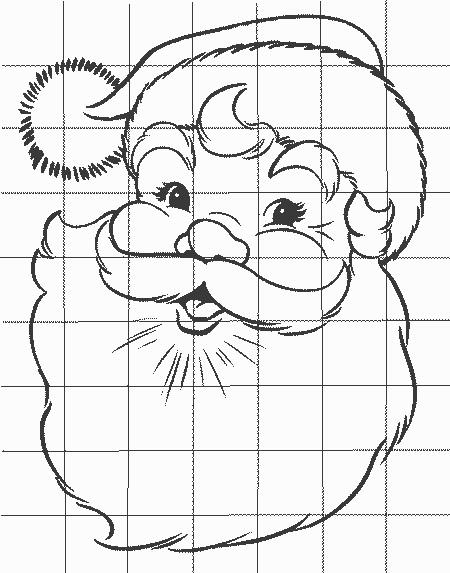 Удивительный рисунок Деду Морозу на новый год007
