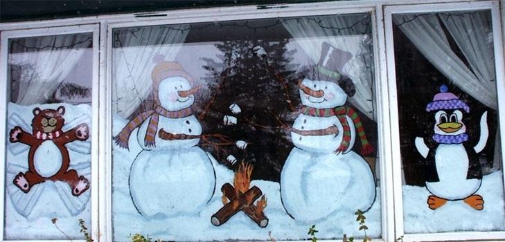 Удивительный рисунок Деду Морозу на новый год009