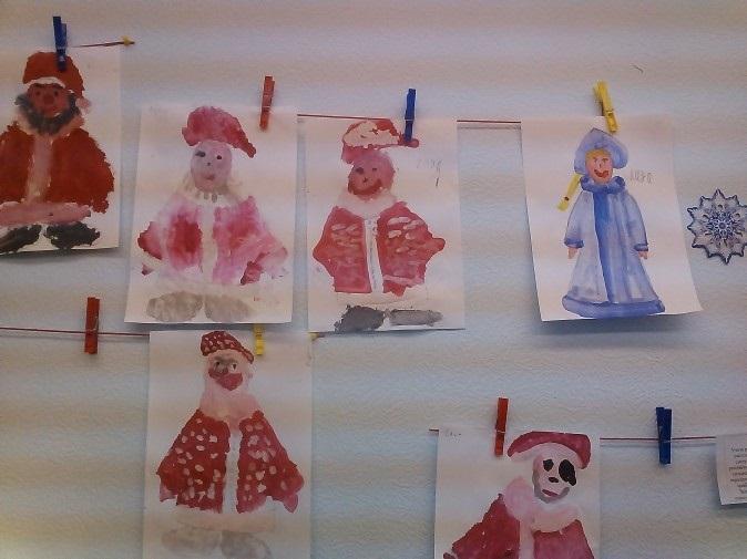 Удивительный рисунок Деду Морозу на новый год013