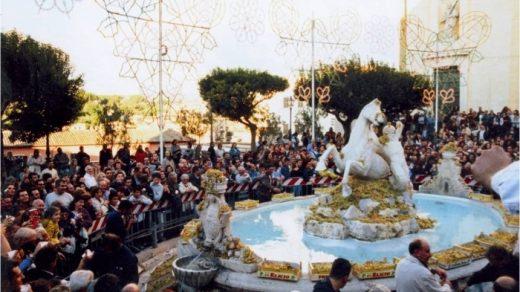 Фестиваль винограда в Марино010