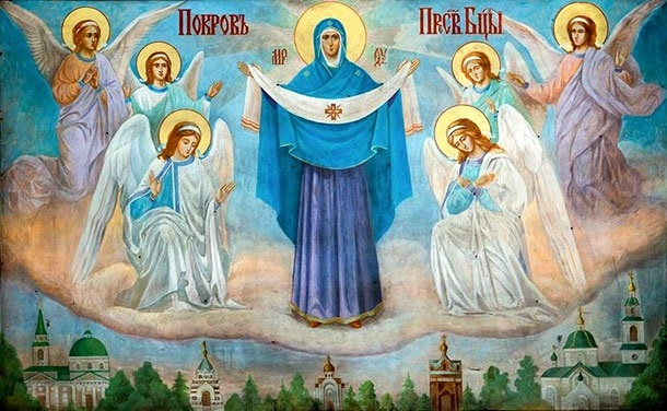 Фото и картинки на Покров Пресвятой Богородицы005