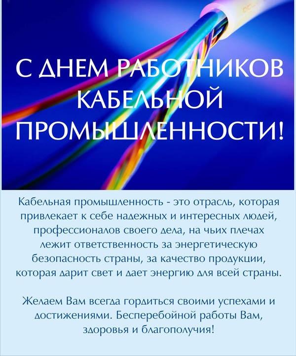 Фото на День работника кабельной промышленности в России020