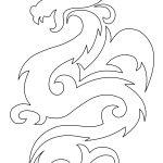 Эскиз дракон с цветами — подборка фото