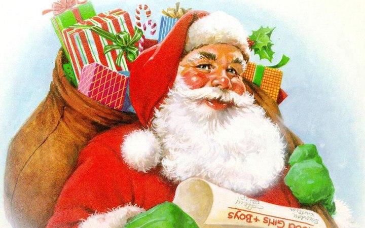 День рождения Деда Мороза прикольные картинки (10)