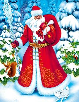День рождения Деда Мороза прикольные картинки (13)