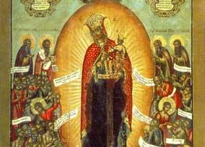 Красивые картинки в честь иконы Божией Матери «Всех скорбящих Радость» (10)