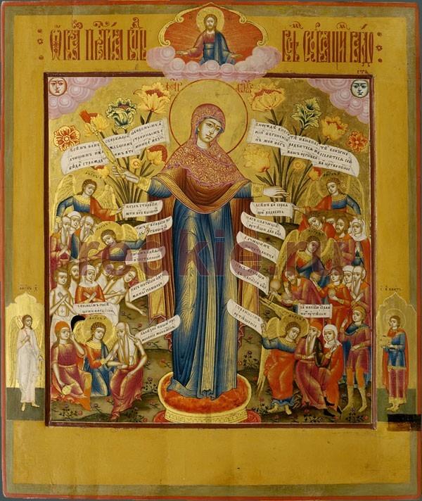 Красивые картинки в честь иконы Божией Матери «Всех скорбящих Радость» (14)