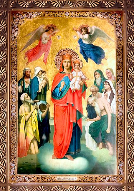 Красивые картинки в честь иконы Божией Матери «Всех скорбящих Радость» (4)