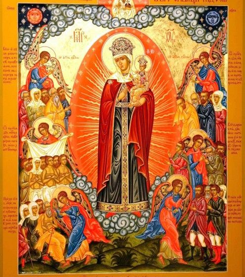 Красивые картинки в честь иконы Божией Матери «Всех скорбящих Радость» (8)